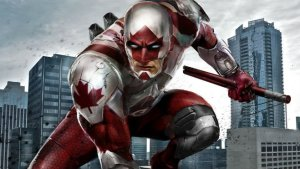 Captain Canuck new slick design