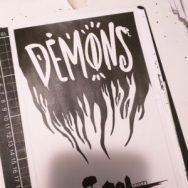 DEMONS alternate logo