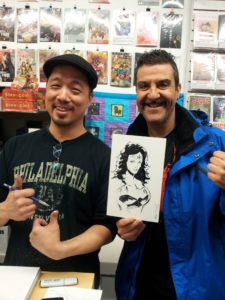 Eric Kim & me