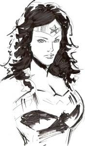 WW sketch by Eric  Kim