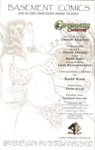 CAVEWOMAN - CASTAWAY inside cover