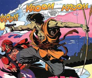 King Tiger - gun & bow
