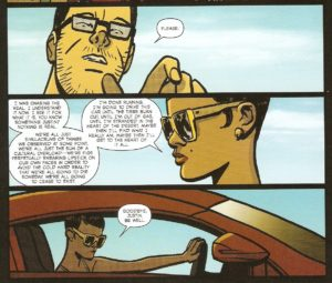 MAYDAY #4 pg. 20 panels 3-5