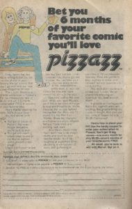 Pizzazz Mag sub form