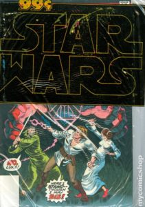 STAR WARS {1st Marvel Series} #4-6 polybagged three for 99 cents