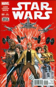 STAR WARS {2nd  Marvel Series} #1 3rd printing
