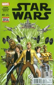 STAR WARS {2nd  Marvel Series} #1 6th printing
