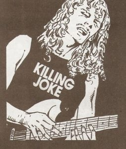 ROCK & ROLL BIOGRAPHIES #4 Killing Joke tee