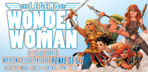 LEGEND of WONDER WOMAN {2nd Series} #1 ad 1