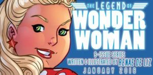 LEGEND of WONDER WOMAN {2nd Series} #1 ad 3