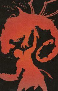 LEGEND of WONDER WOMAN {2nd Series} #1 blood runs red