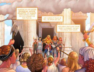 LEGEND of WONDER WOMAN {2nd Series} #1 original Amazons 2.1