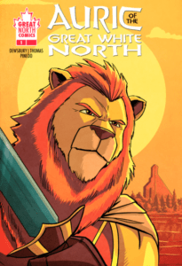 AURIC of the GREAT WHITE NORTH #1 cover E