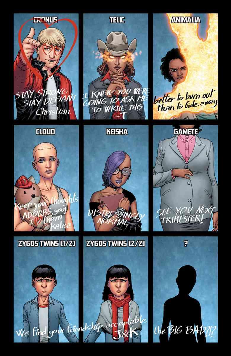 Image result for generation zero comic