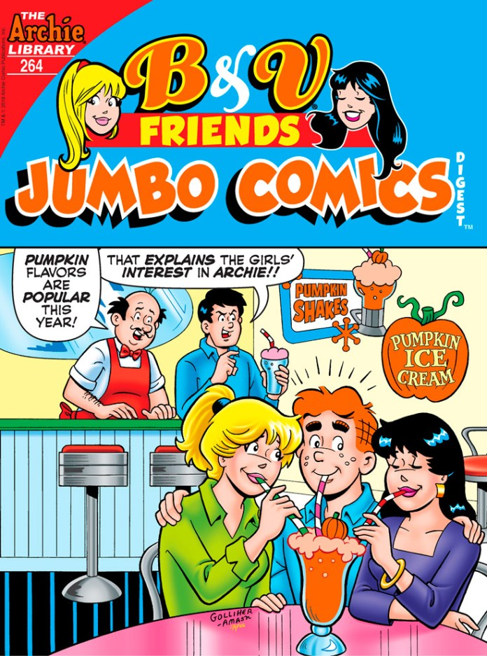 B&V FRIENDS JUMBO COMICS DIGEST #264