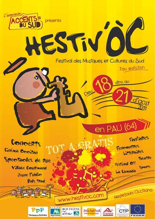 Affiche HestivOc 2011