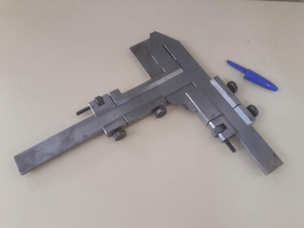 Paquímetro Dentes De Engrenagem 60mm