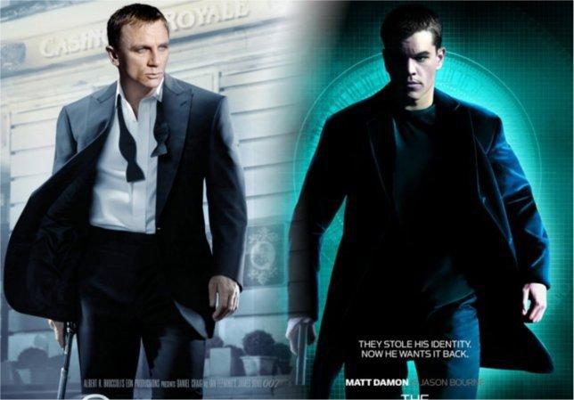Depuis 2002, le débat est lancé sur qui de Bourne ou Bond l'emportera