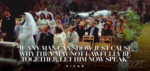 Et si quelqu'un s'oppose à ce mariage, qu'il le fasse savoir maintenant...