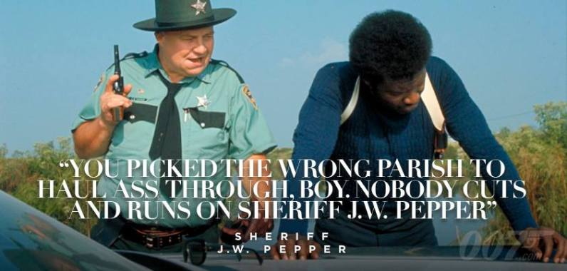Personne n'échappe au Sheriff J.W. Pepper