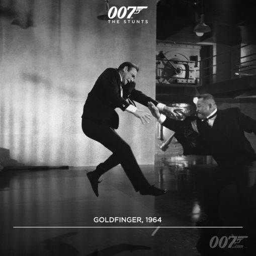 L'affrontement avec Odd Job dans Goldfinger