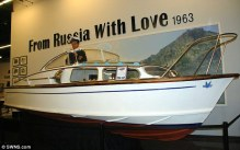 Le bateau de Bons Baisers de Russie
