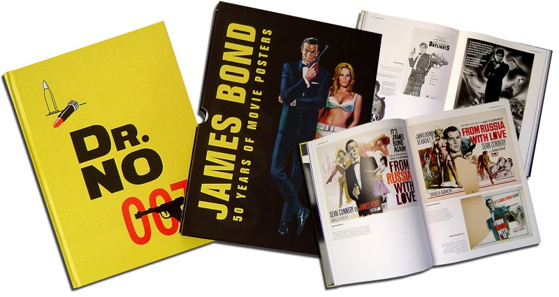 50 years of James Bond Posters