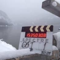 Tournage le 5 Janvier en Autriche