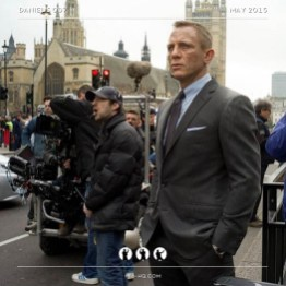 Behind the scenes on Skyfall #danielcraig #jamesbond
