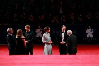 La-duchesse-de-Cambridge-Kate-avec-les-princes-William-et-Harry-a-Londres-le-26-octobre-2015