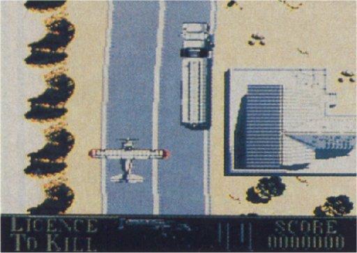 La jaquette du jeu et un seul screenshot sont les seuls éléments restants de la version NES du jeu.
