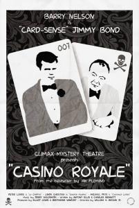 Casino Royale 1954 poster par Ian Laskey