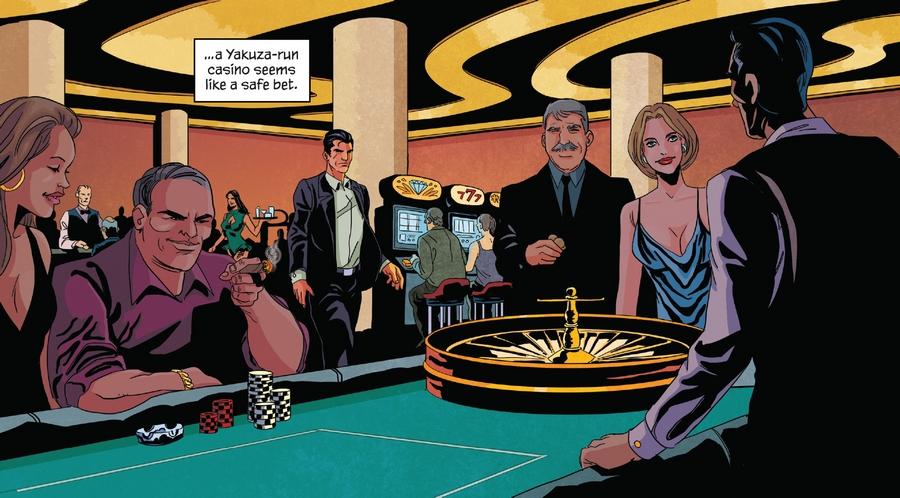 Au casino, les dessins sont superbe.