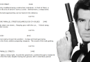 GoldenEye : analyse d'un shooting script