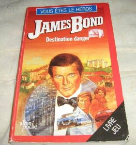 Livre héros James Bond (1)