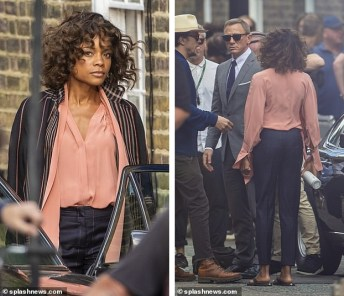 Bond 25 tournage londres moneypenny
