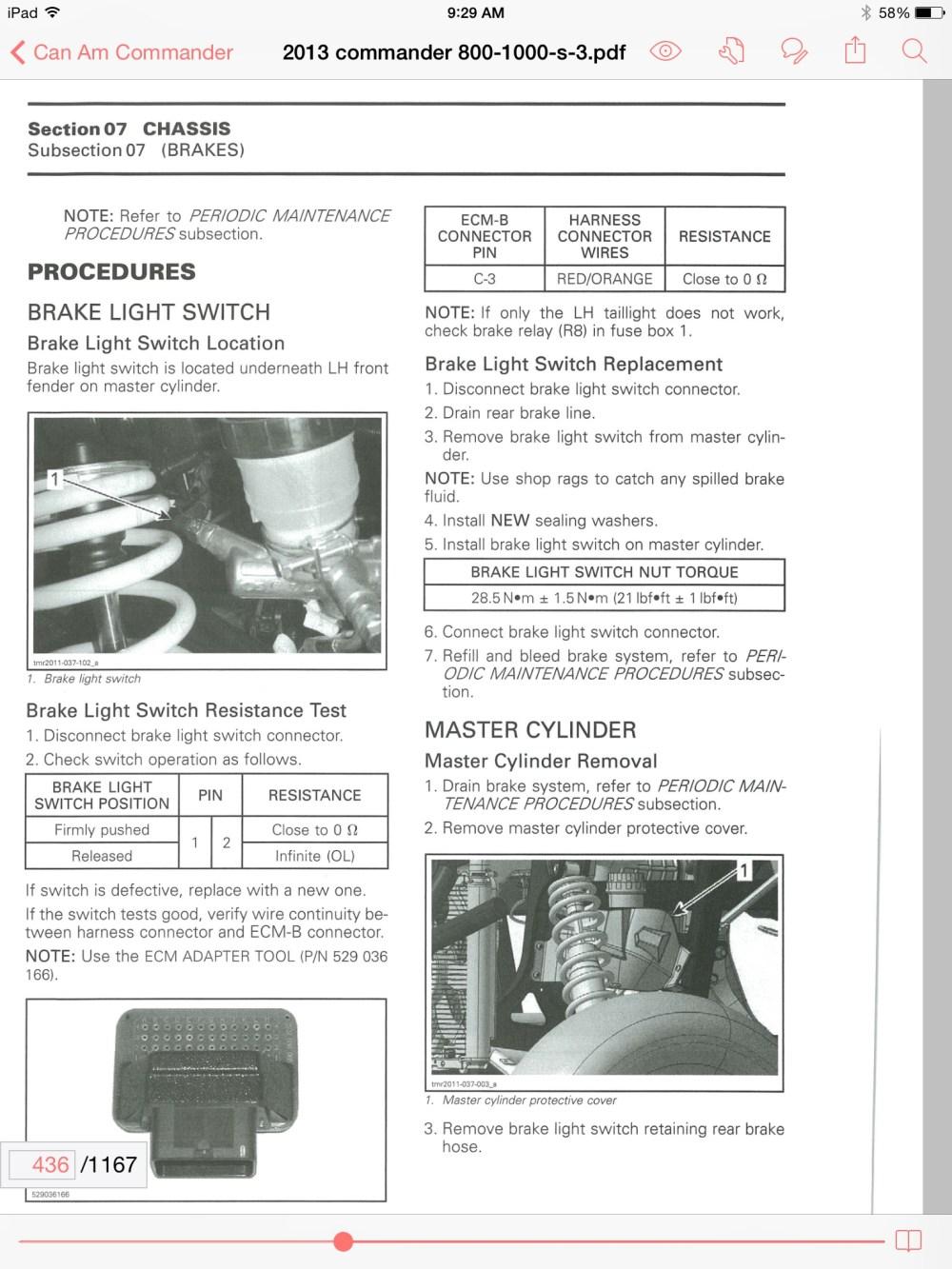 medium resolution of can am maverick fuse box location 33 wiring diagram 2011 kawasaki teryx 2011 kawasaki teryx