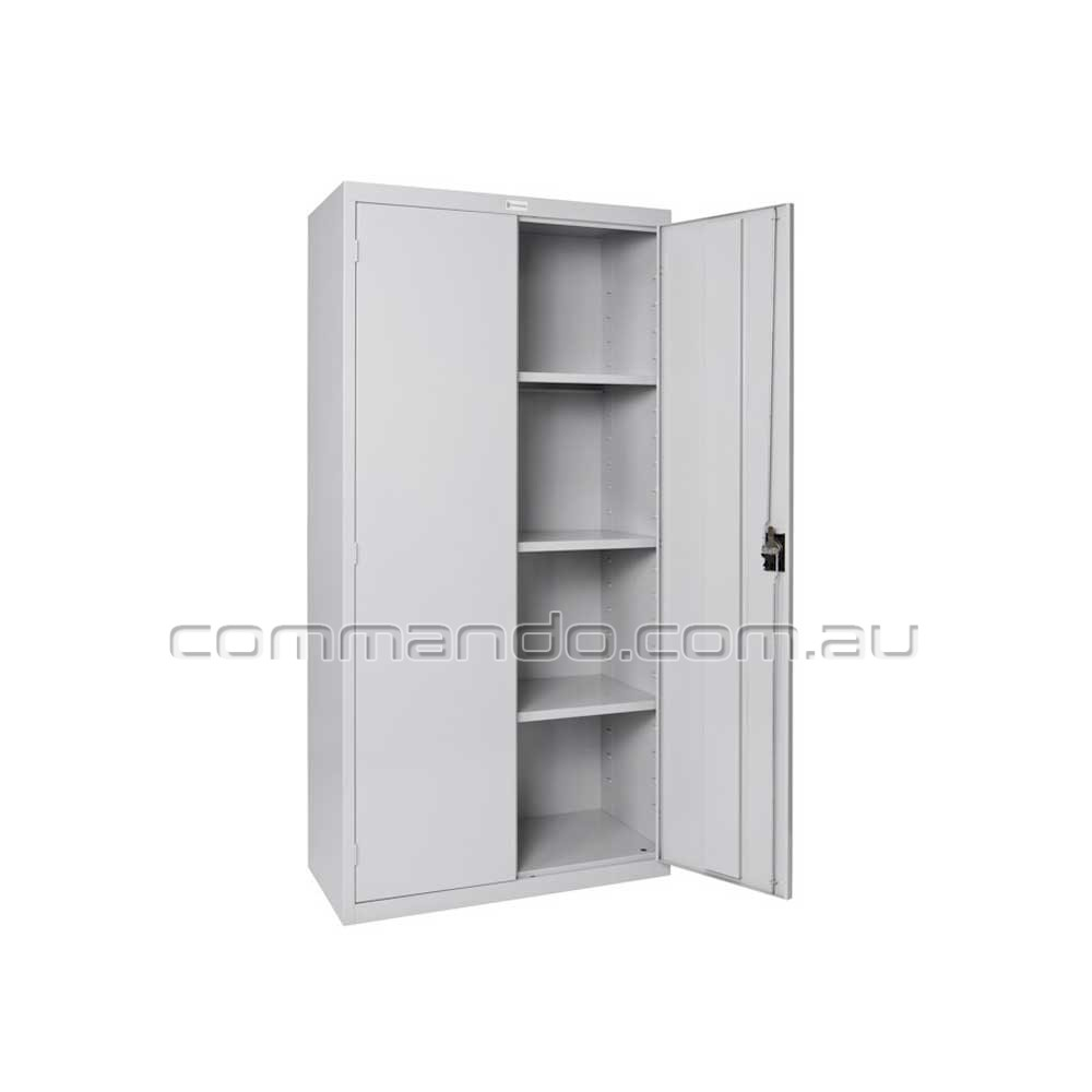 Stationary Cabinet  Cabinets  Commando Storage Systems