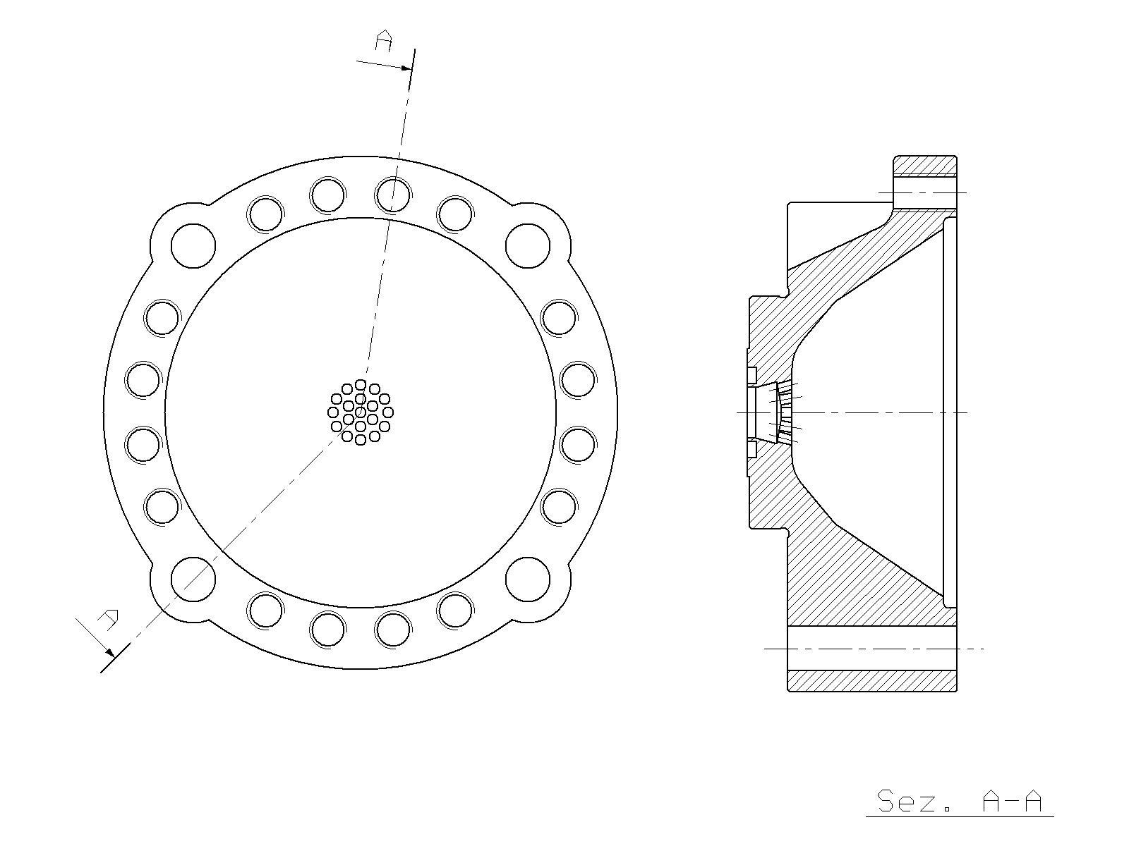Accumulator Lower Half Krupp Hm 960 Hydraulic Hammer