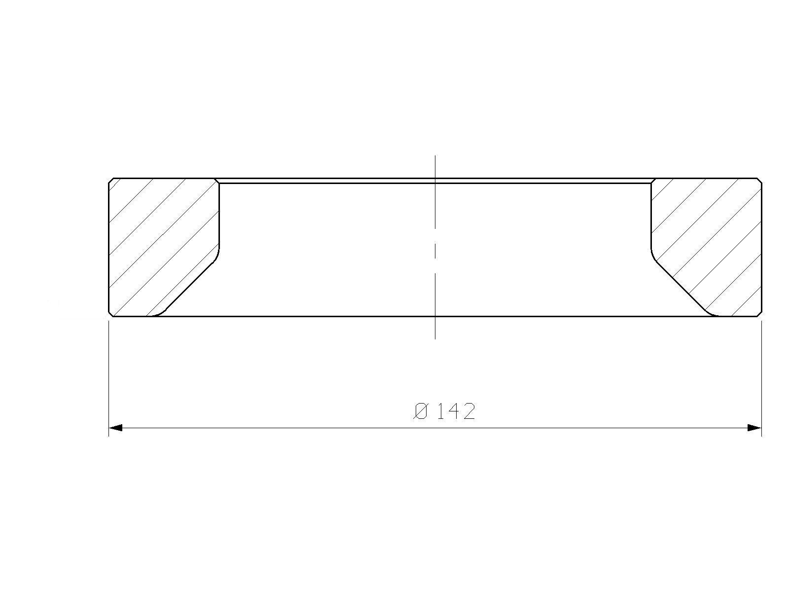 Intermediate part, ATLAS COPCO, MB 1200, hydraulic hammer