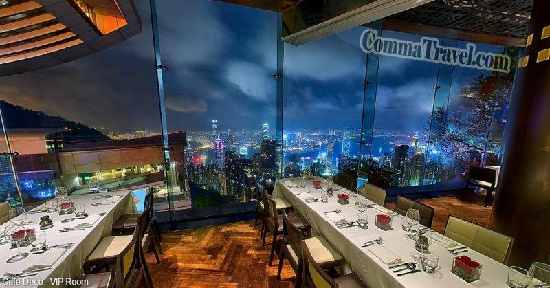 【遊記‧香港】19間高空維港夜景餐廳‧西餐篇 - Comma Travel
