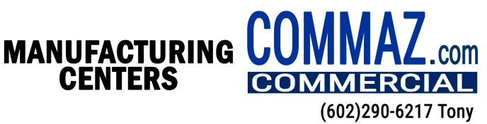 CommAZ - Commercial Manufacturing Center Buildings for sale in Arizona and Phoenix metro with The Realty Gurus