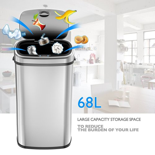 1 home Capteur poubelle