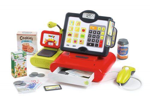 Smoby - 350102 - Caisse Enregistreuse jouet électronique contenu boite