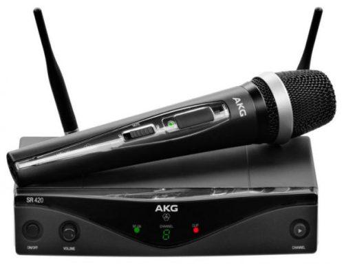 micro sans fil professionnel 2