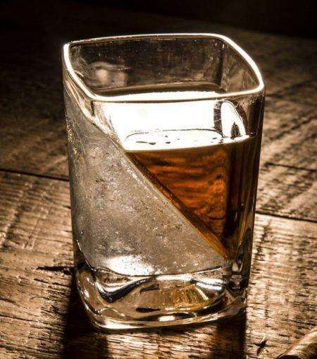 verre à whisky refroidisseur