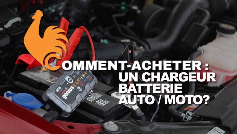 Chargeur de batterie d'auto moto – Guide d'achat pour choisir le meilleur