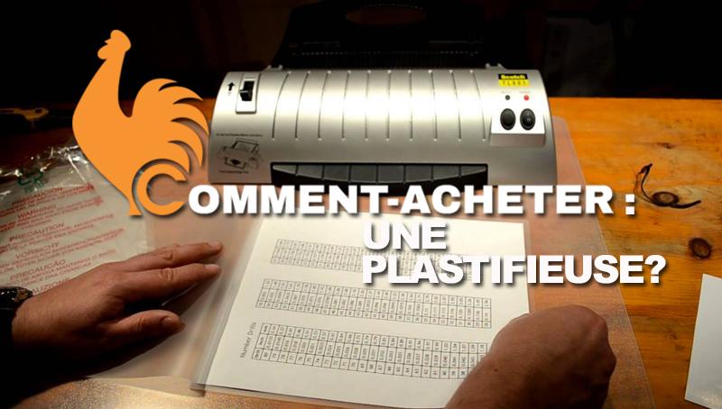 Plastifieuse – Guide d'achat pour choisir la meilleure