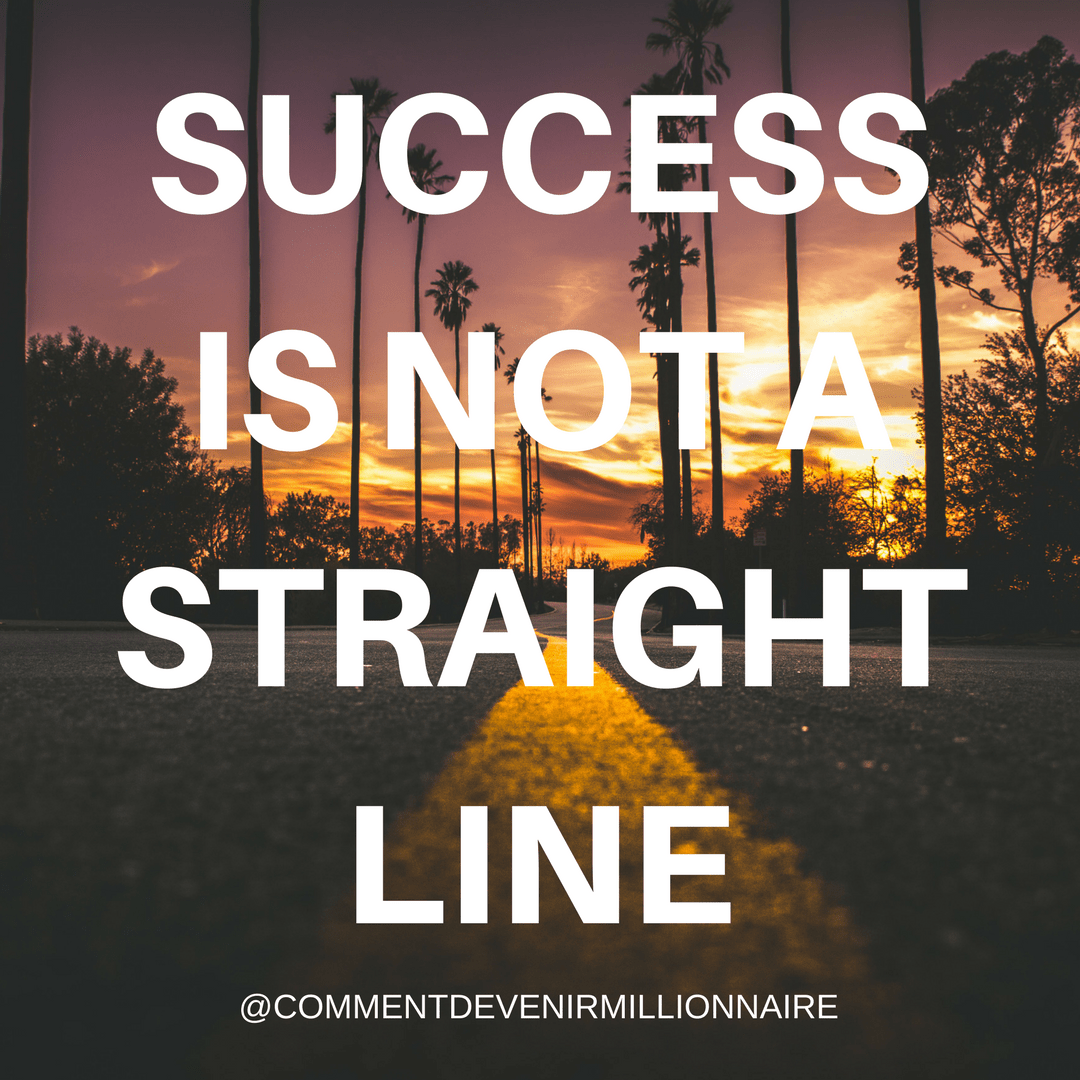 success is not a straight line
