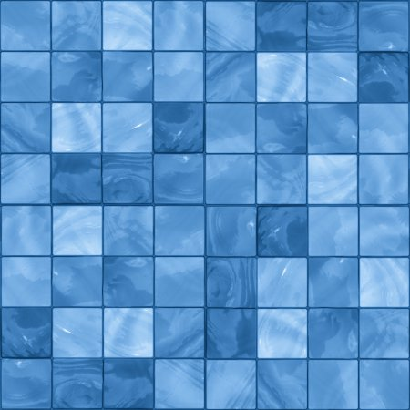 Sky Blue Glass Tile Background Seamless Background Or